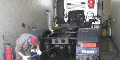 Kamion mosás