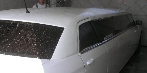 limuzin mosás