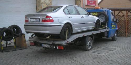 Non-Stop autómentés + segély