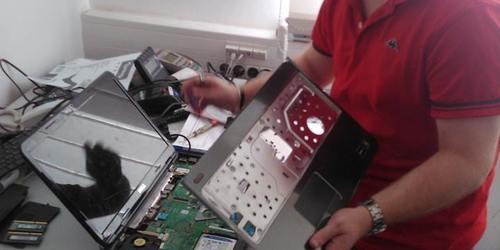 DELL notebook SSD cseréje