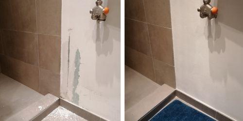 fürdőfal javítás