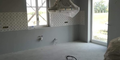 Újépítésű ház teljes gletteles-festés 2018