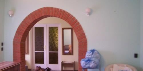 Nyaraló nappalija átalakítás előtt