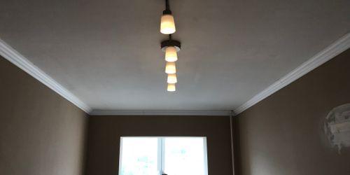 Ötágú lámpa felszerelése