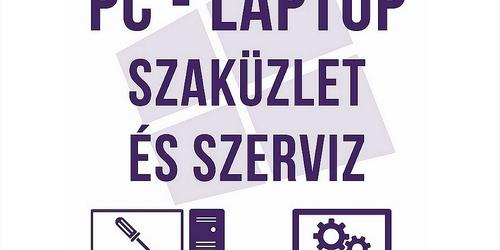 Laptop szervíz Komló Pécs