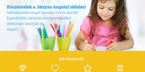 Játékos angol oktatás Debrecenben