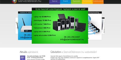 Számítógép szerelő honlapja Debrecenben