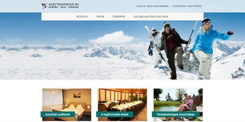 Ausztriai szállás és programajánló honlap