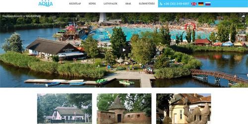 Hajdúszoboszlói szálloda és wellnessközpont honlapja