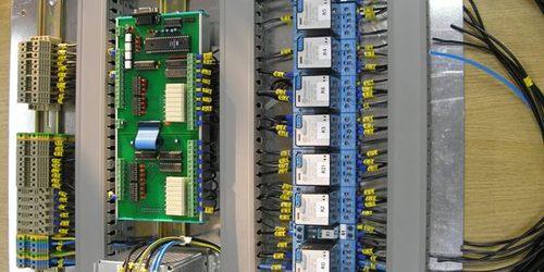 Védelmi és vezérlő szekrények és biztonság technikai rendszerek gyártása.
