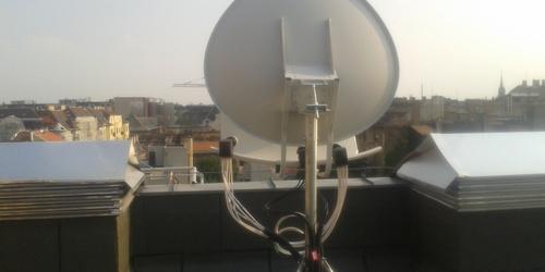 Toroid Antenna telepítése Hotel részére