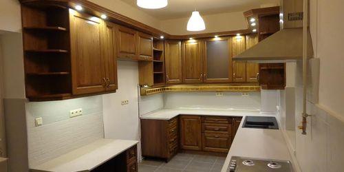 Tömör tölgy konyha