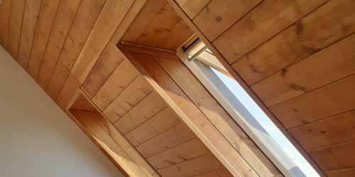 Tetőtéri lambéria készítés