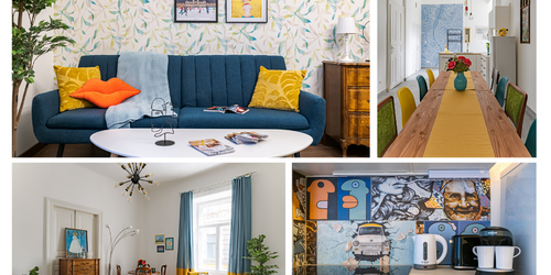 Airbnb styling, Budapest