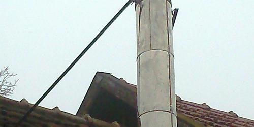 Kéménybélelés, felújítás Tápiószentmárton Hatvan