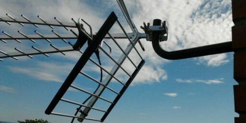 Dvb-t antenna szerelése Balaton környéke.
