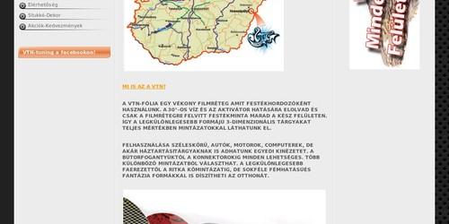 Stukkó Dekor Kft - VTN technológia hivatalos weboldala.