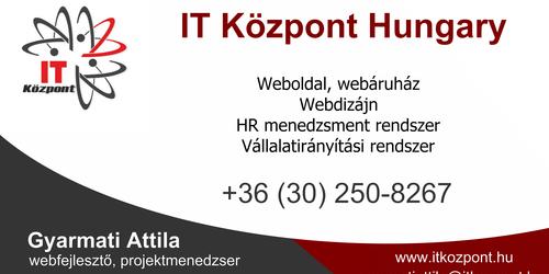 IT Központ Hungary - Gyarmati Attila