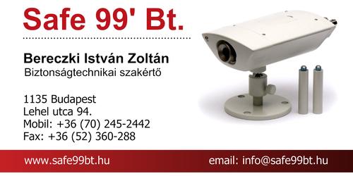 Safe 99' Bt. - Bereczki István Zoltán