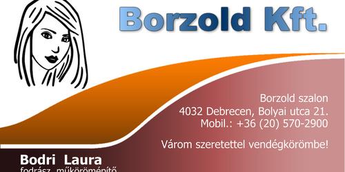 Borzold Kft. - Bodri Laura