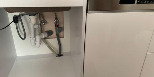 Mosogatótálca és mosogatógép kiépítése