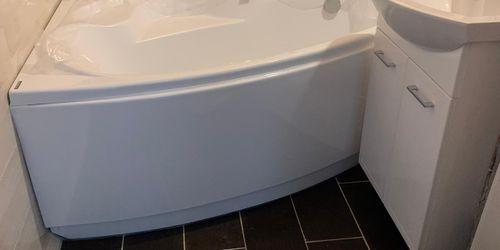 Panelfürdőszoba felújítás