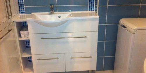 Fürdőszoba beépítés