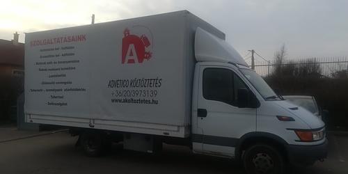 Költöztetés Veszprém Eger
