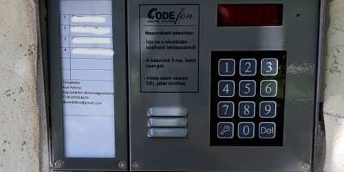 Kaputelefon szerelés Szigetszentmiklós Budapest - XVIII. kerület