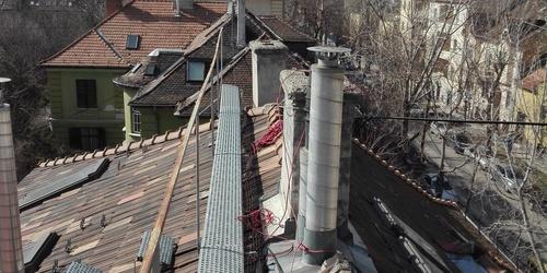 Kéménybélelés, felújítás Váckisújfalu Budapest - XIII. kerület