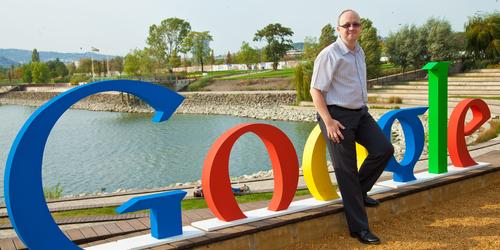 Az egyik Google konferencián