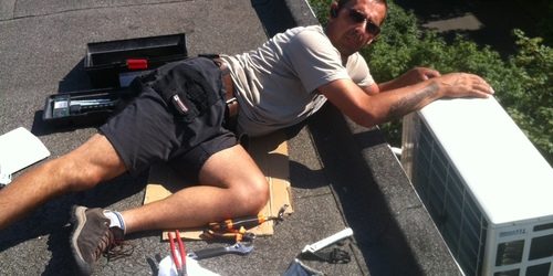 Ha kell a tetőre is felmegyünk!