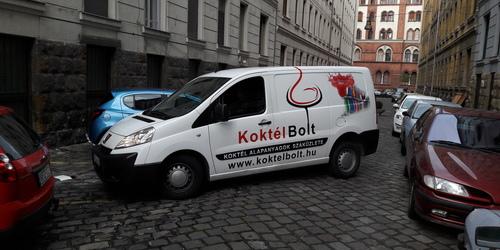 Autófóliázás Budapest - VIII. kerület Tokod