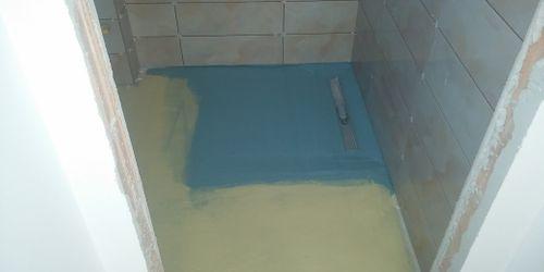 épített zuhany szigetelés