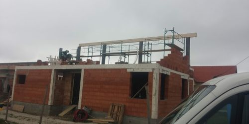 épületszerkezet építés, falazás