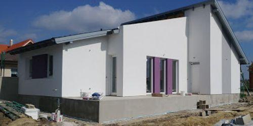 elkészült épület Harka