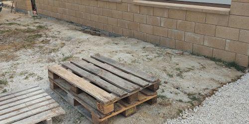 elemes kerítés építése