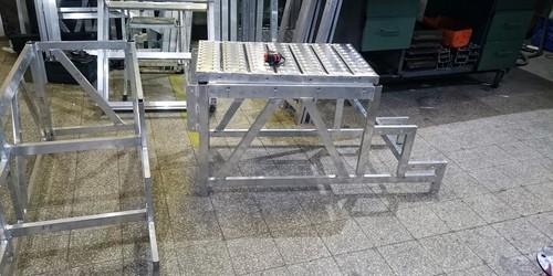 alumínium fellépő készítése