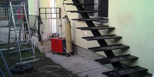 Lépcső felépítése