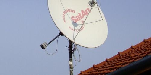 1,8m-es forgatható antenna