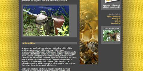 Németh Méhészet honlap