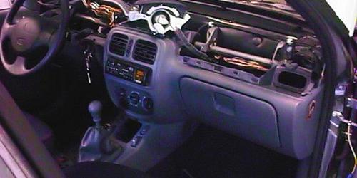 Renault Thalia, riasztóbeszerelés