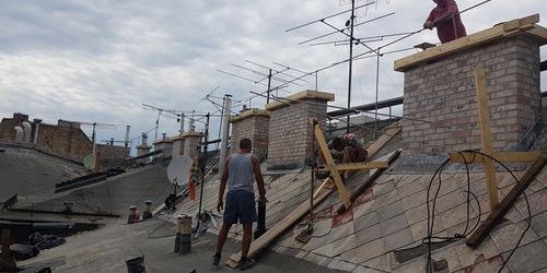 Kéménybélelés, felújítás Izsák Budapest - XII. kerület