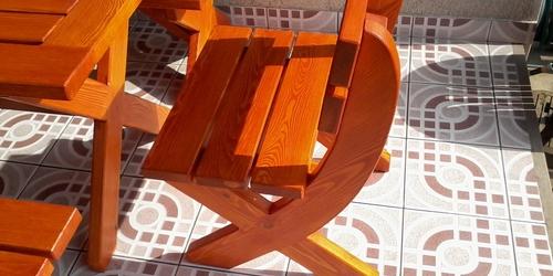 Kerti szék borovi fenyő