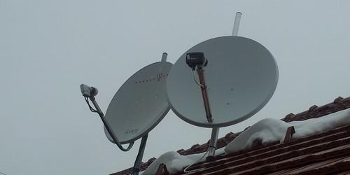 Műhold antenna