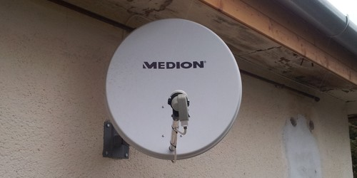 Astra műhold antenna