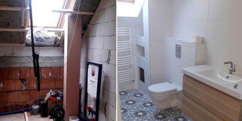 Fürdőszoba kivitelezése
