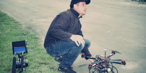 Első komolyabb dronommal