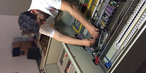 Épület gépészeti, redőnymozgatási, világítás rendszer  PLC-s vezérlőközpont megépítése! 😁