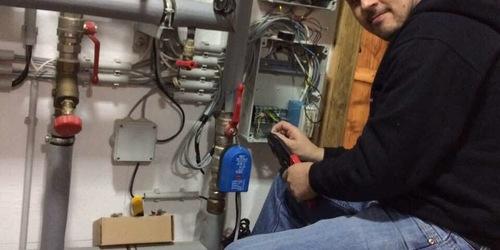 Hűtés-Fűtés rendszer vezérlés javítása. Siker!